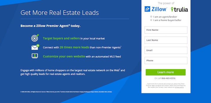 lead-gen-landing-pages-zillow